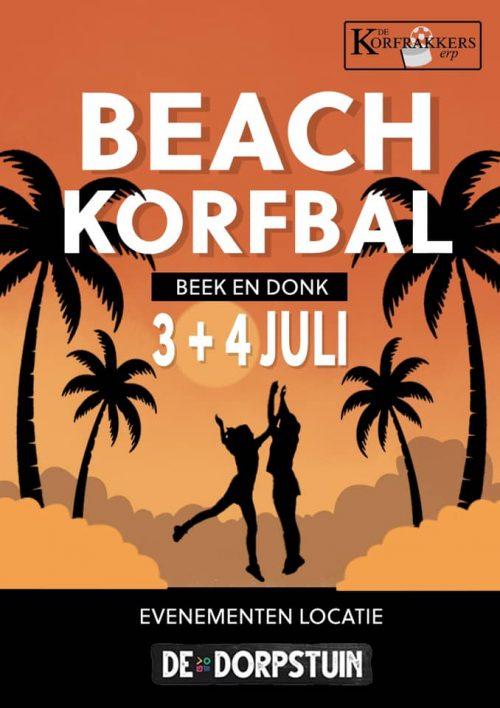Schema beachkorfbal toernooi bekend!
